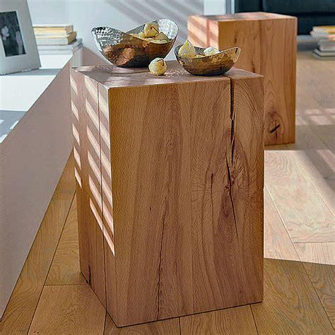 holzblock bauhaus noblewood massivholzblock buche 30 x 30 x 45 cm bauhaus