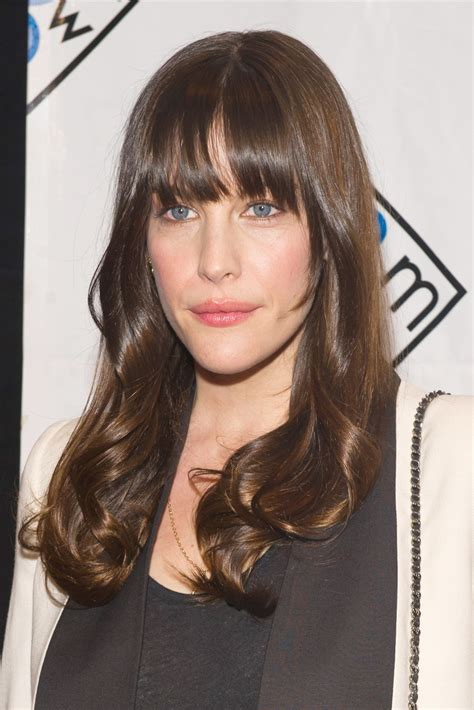 liv tyler hairstyles for narrow face shapes 1000 ideas about long face hairstyles on pinterest