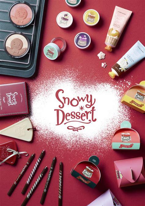 Makeup Etude House etude house 2015 serves up a snowy dessert