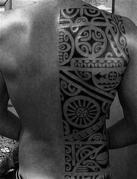 half back tattoo 60 tribal back tattoos for bold masculine designs
