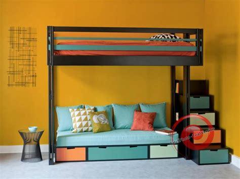 lit mezzanine avec canape lit mezzanine avec canap 233 convertible fix 233