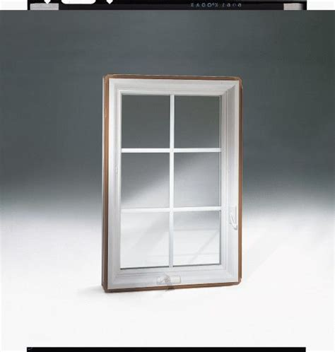 white interior casement window with colonial style grilles our casement windows