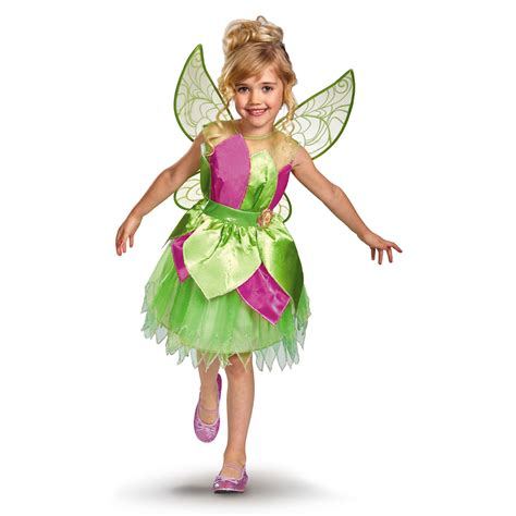 Fairism Dress costumes for toddler deluxe tinker bell disney costume
