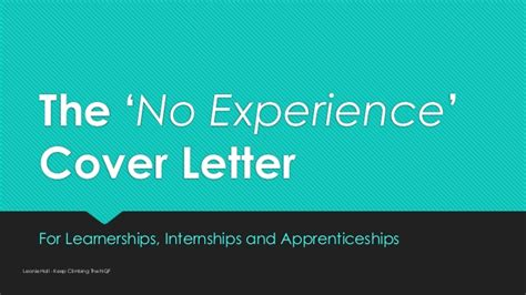 mining cover letter no experience no experience cover letter sle