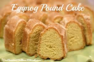 eggnog pound cake recipe dishmaps
