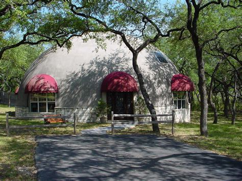 beautiful monolithic dome home   texas hill country