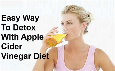 Easy Ways To Detox At Home by A Surprisingly Easy Way To Detox With Apple Cider Vinegar
