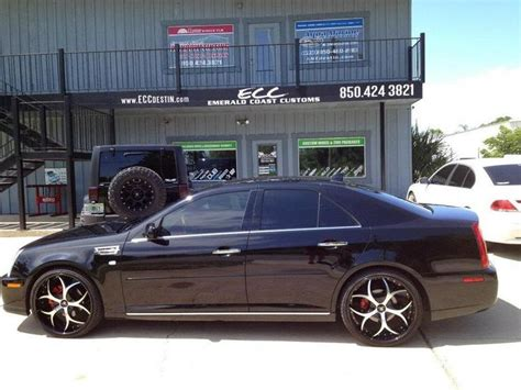 Handmade By Sts Personalized - cadillac sts w 22 quot hipnotic venom hankook ventus v12
