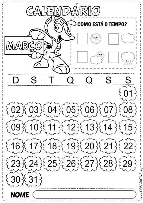 Calendario De Copa Calend 225 Rios Mar 231 O Copa Do Mundo 2014 Fuleco Para Colorir
