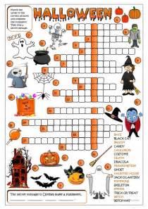 unscramble halloween pictionary worksheet free esl