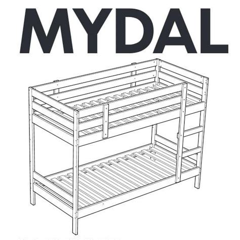 ikea bed parts ikea mydal bunk bed replacement parts furnitureparts com