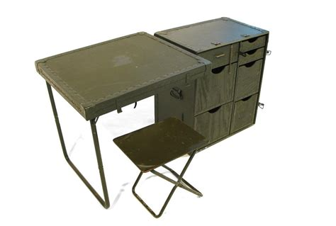 field desk steel era army field desk at 1stdibs