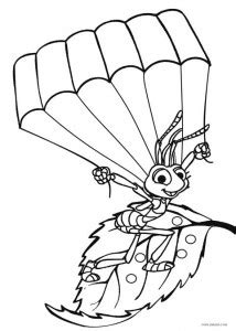 Printable Bug Coloring Pages For Kids | Cool2bKids