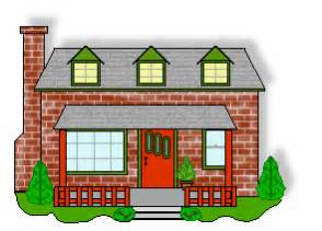 Home Builder Free Houses And Buildings Clip Brick House With Dormer