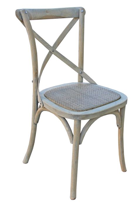 bordeaux cross back dining chair