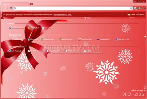 themes for google chrome christmas best christmas themes for google chrome