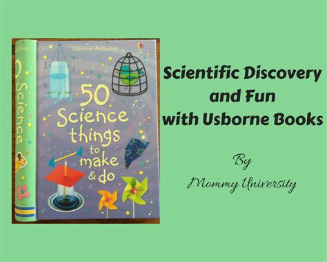 50 Things To Do With A Book 50 science things to make and do from usborne books