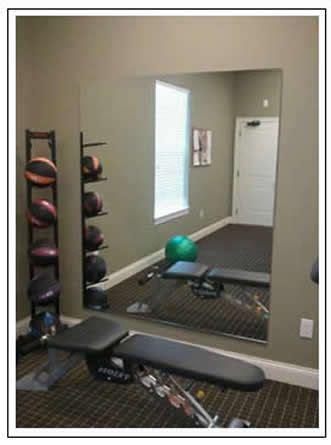 diy home gym mirror weights  home gym decor home