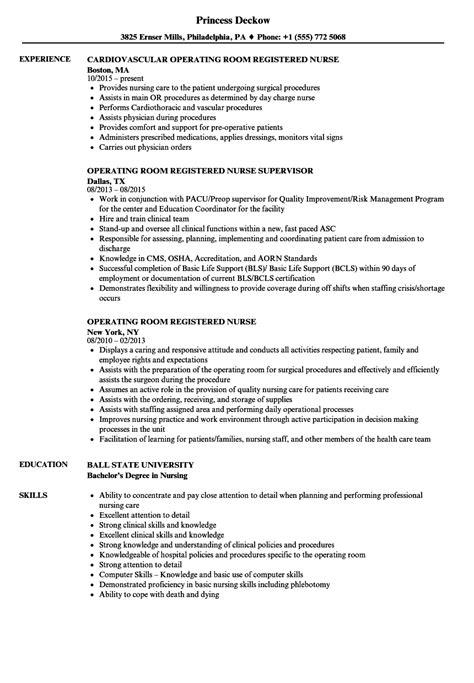 charge nurse resume nursing healthcare examples job description