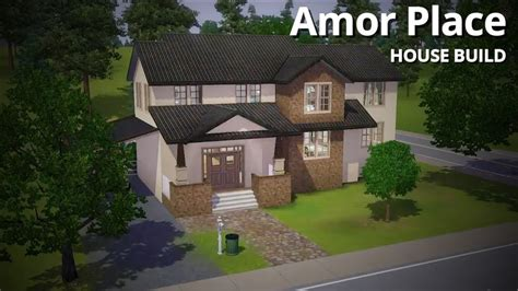 the sims 3 house building the new yorker house speed the sims 3 house building amor place youtube