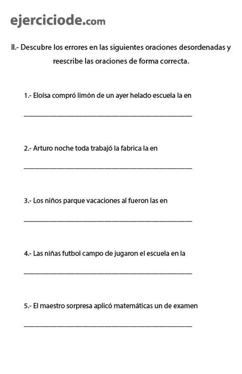 orden preguntas en aleman ejercicios de ordenar palabras para formar oraciones