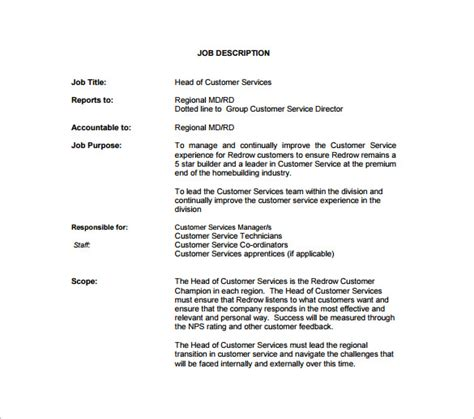 Exles Of A Customer Service Resume by Customer Service Manager Duties For Resume Free