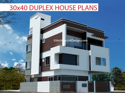 30x40 duplex house floor plans duplex house plans 30x40