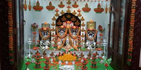 ugadi decorations at home pooja room interior decoration archives pooja room and