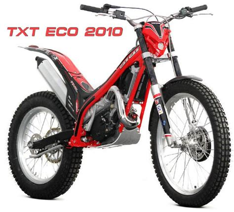 Neue Trial Motorräder 2014 by Txt Sondermodell Eco Modellnews