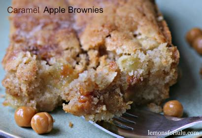 Apple Brownies Crunch Brownies Apel Crunch caramel apple brownies tasty kitchen a happy recipe community