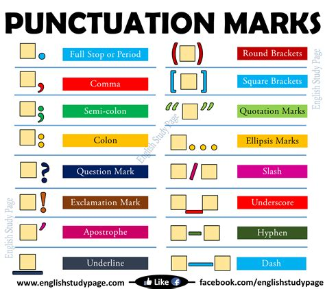 1407140701 grammar and punctuation years punctuation marks in english english study page