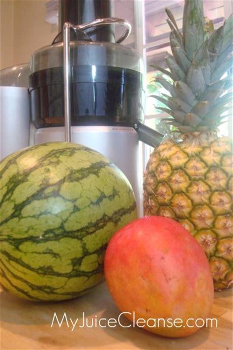 Pineapple Watermelon Detox by Pineapple Watermelon Mango Juice My Juice Cleanse