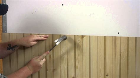 wall half wood panels how to install wall paneling walls paneling youtube