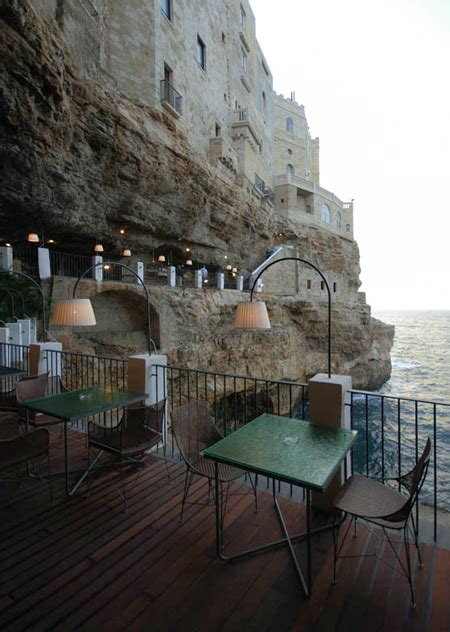grotta palazzese hotel restaurant in a cave