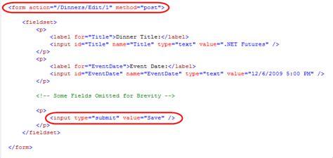 Nerddinner Step 5 Crud Support Html Input Template