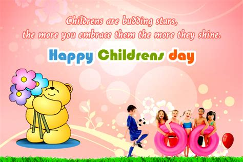 messages for children happy childrens day 2016 wishes messages images quotes sms