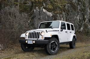 Jeep Polar Edition Suv Review 2014 Jeep Wrangler Polar Edition Driving