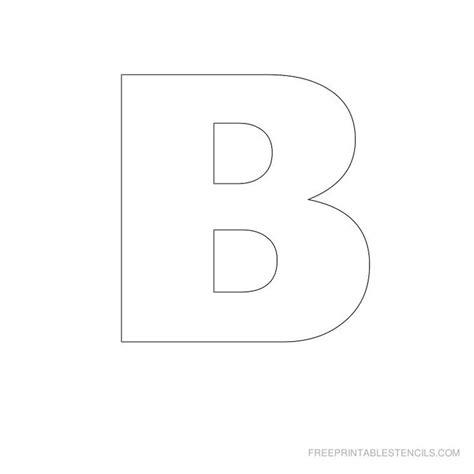 printable a z stencils stencils letters free printable big letter printable