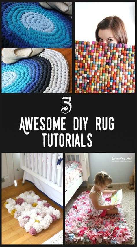 epic diy projects 5 awesome diy rug projects page 2 nifty diys