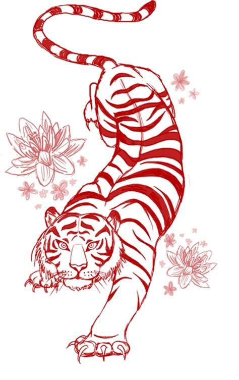 tattoo flash tiger tiger tattoo flash art commission by megantoy on deviantart