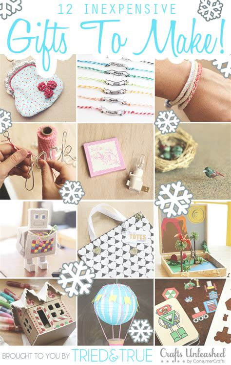 Handmade Gifts From Toddlers - a crafty shopping spree for you tried true