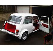1987 CLASSIC AUSTIN MINI ADVANTAGE WHITE CUSTOM LEATHER