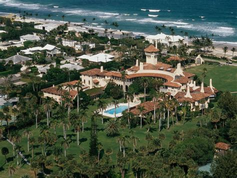 is trump at mar a lago inside donald trump s mar a lago estate where he s done