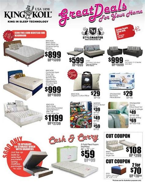 king koil mattress bedding clearance sale event at isetan