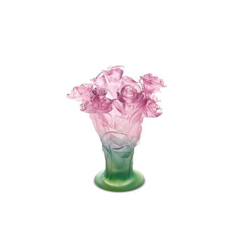 flowers of orchid decorative flower daum site officiel vase roses daum site officiel manufacture 100