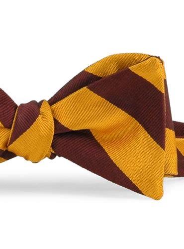 Middle Block Stripe Maroon marigold maroon block stripe bow