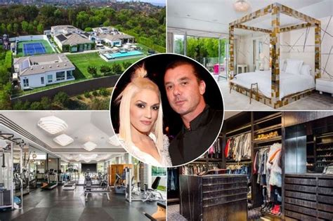 Gwen Stefani Pays 15 Million For Mansion by Inside Gwen Stefani And The Voice Uk Coach Gavin Rossdale