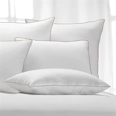 firm bed pillows memory fiberfill pillow grand resort medium firm comfort