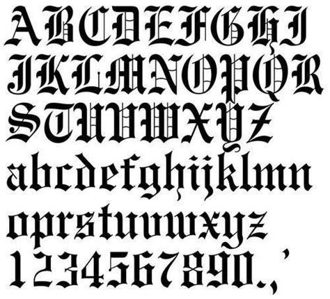 old latin tattoo fonts como fazer letras g 243 ticas desenhos e exemplos