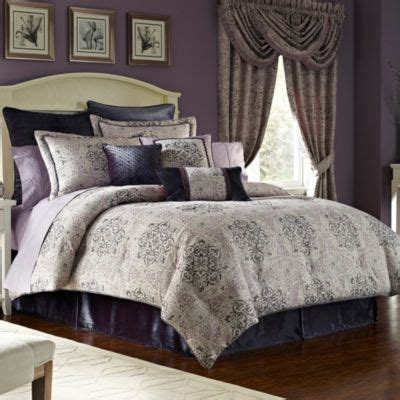 Eggplant Comforter by Buy Eggplant Bedding From Bed Bath Beyond